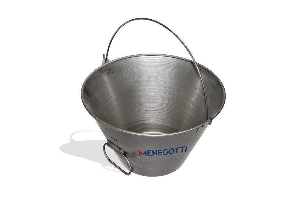 Balde Metálico Galvanizado para Concreto 15 litros