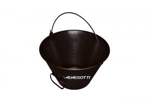 Varnished Metal Bucket 10l