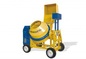 Semi-Hydraulic Professional Concrete Mixer 600l